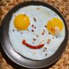 Как готовить Яичницу-глазунью