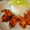 Куриное филе в томатно-соевом соусе