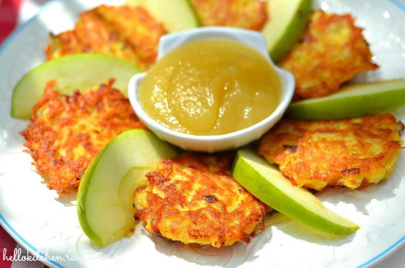 Картофельные оладьи (драники)1-