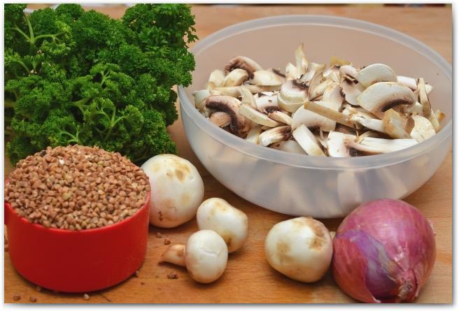 11 Гречневая каша с грибами