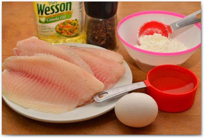 рецепты с фото с филе тилапии