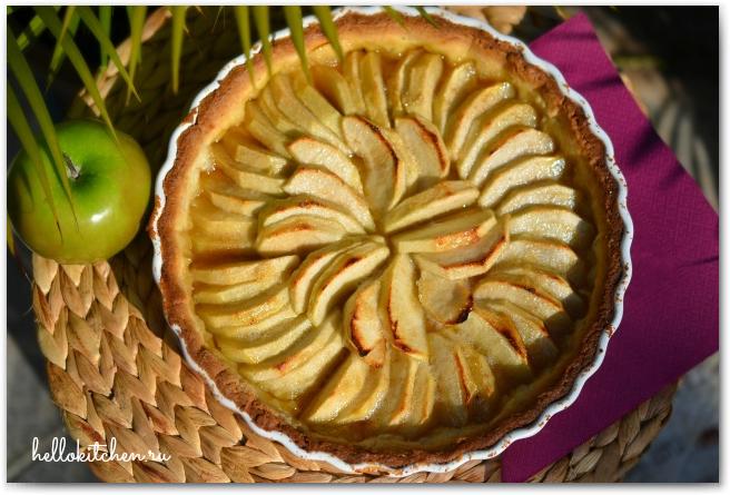 Французский яблочный тарт 00-
