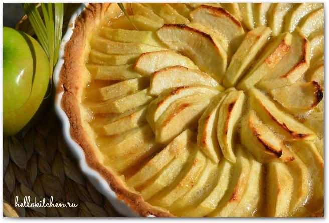Французский яблочный тарт 11-