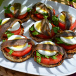 Рецепт Гренки с анчоусами