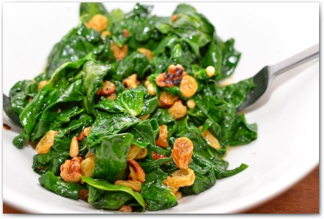 Салат из свежего шпината рецепты 78
