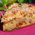 Рецепт Творожно яблочный пирог