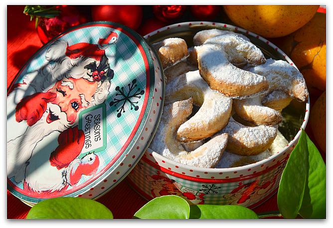 Печенье Миндальные полумесяцы 12 Ванильные рогалики