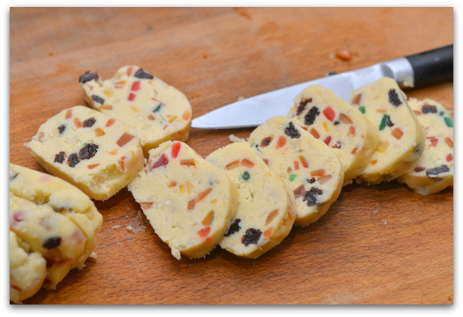 Печенье с цукатами и орехами