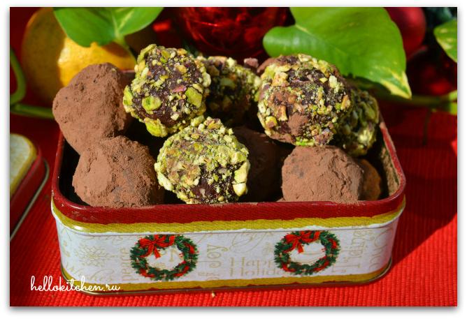 Шоколадные трюфели с ромом 11-