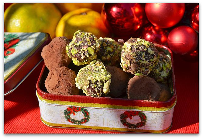Шоколадные трюфели 00 Шоколадные трюфели с ромом