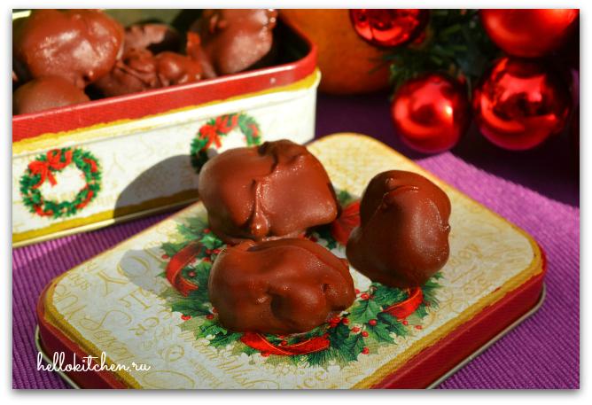 Чернослив в шоколаде 6-