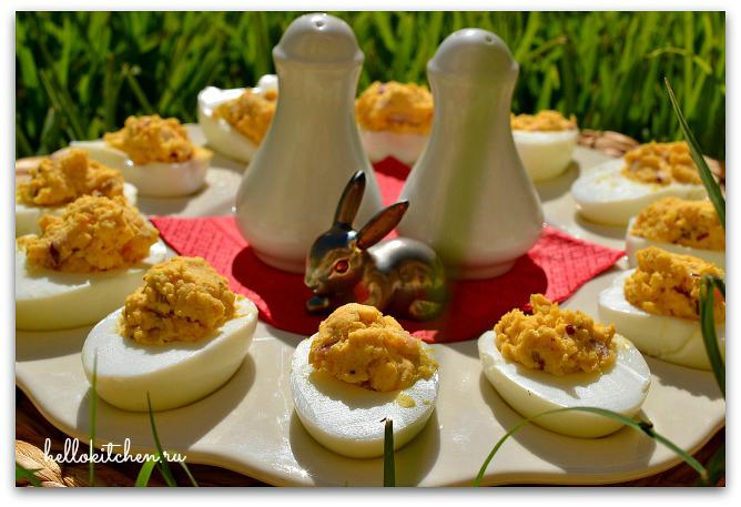 Фаршированные яйца 4-