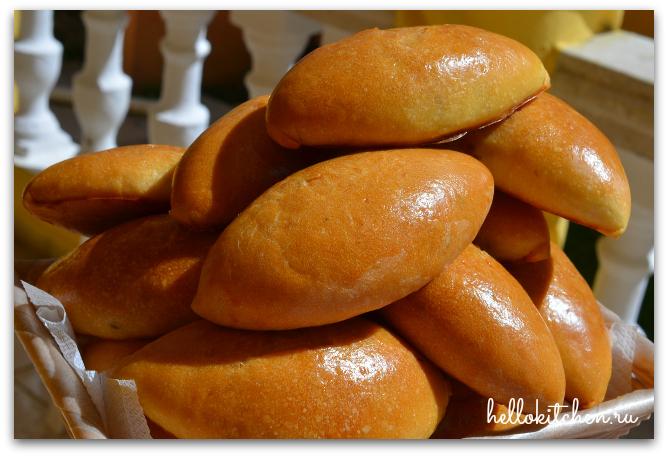 пирожки в духовке рецепт с фото пошагово с капустой