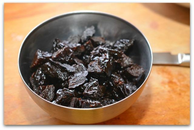 Кофейный пирог с черносливом_2