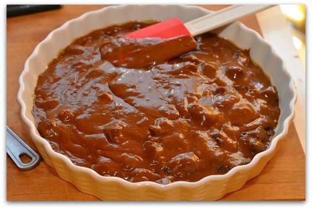 Кофейный пирог с черносливом_6