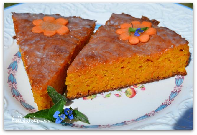Морковный пирог 12-