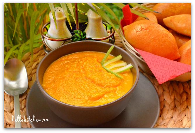 Морковный суп-пюре 00-