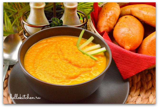 Морковный суп-пюре 6-