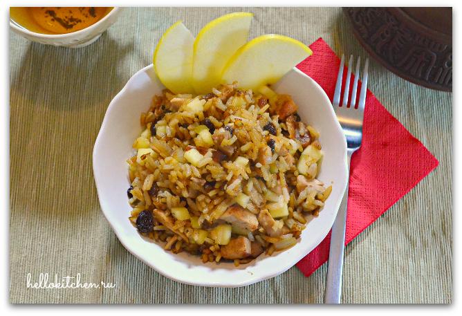 Рис с бужениной 9-