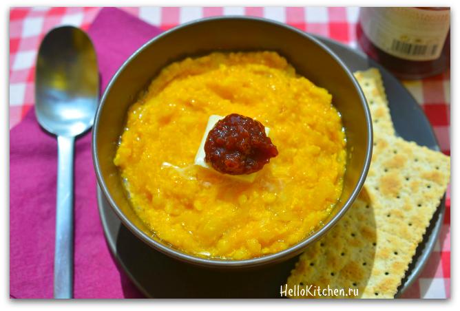 61 Каша из тыквы с рисом